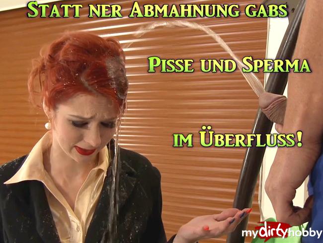 Video Thumbnail Statt ner Abmahnung gab´s Pisse und Sperma im Überfluss!