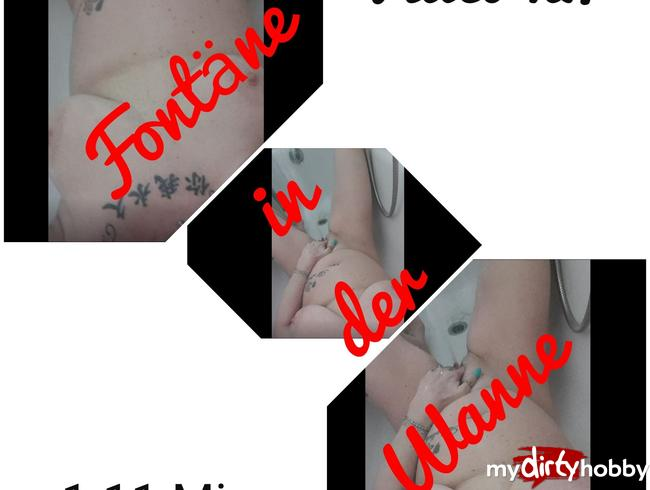 Video Thumbnail Fontäne in der Wanne