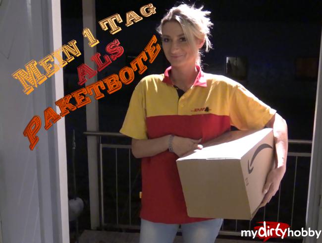 Video Thumbnail Mein 1 Tag als Paketbote und dann das ......