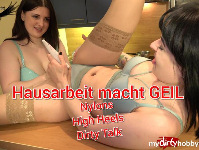 Video Thumbnail Hausarbeit macht einfach geil Dirty Talk HighHeels  Nylons