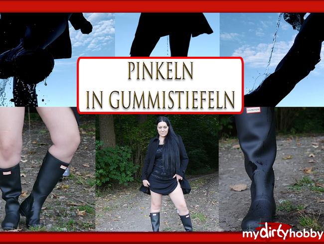 Video Thumbnail Pinkeln mit Gummistiefeln