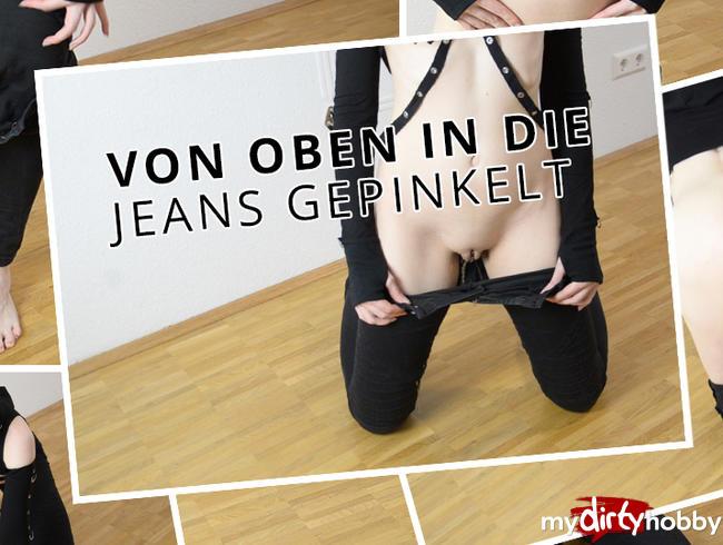 Video Thumbnail Von oben in die Jeans gepinkelt