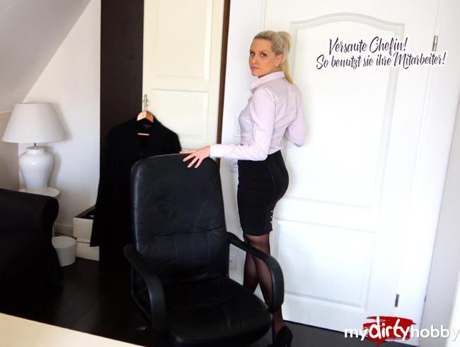 Video Thumbnail Versaute Chefin! So benutzt sie ihre Mitarbeiter!