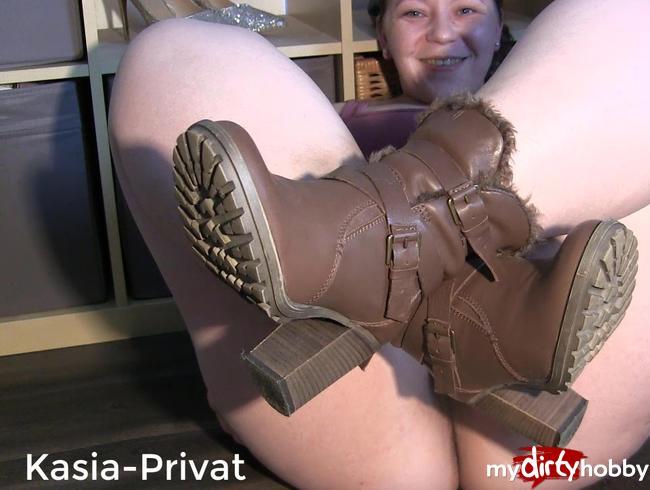 Video Thumbnail Leder Boots Spritzer