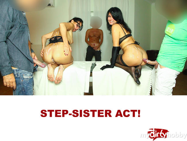 Video Thumbnail Step-Sister Act! Die Sperma Schlacht!