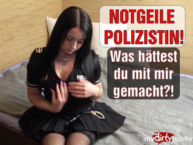 Video Thumbnail NOTGEILE Polizistin! Was hättest du mit mir gemacht?!