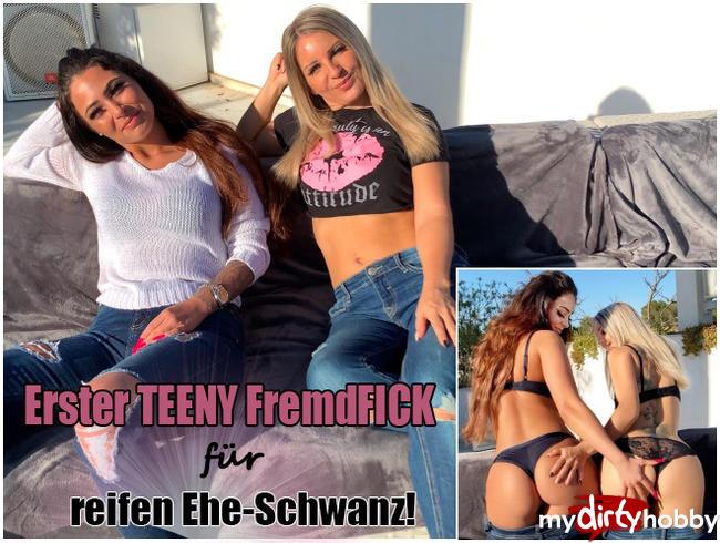 Video Thumbnail Erster Teeny FremdFICK für reifen Ehe-Schwanz!