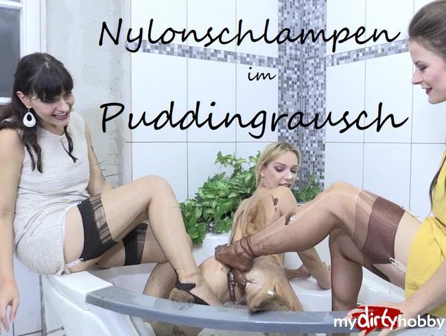 Video Thumbnail Nylonschlampen im Puddingrausch