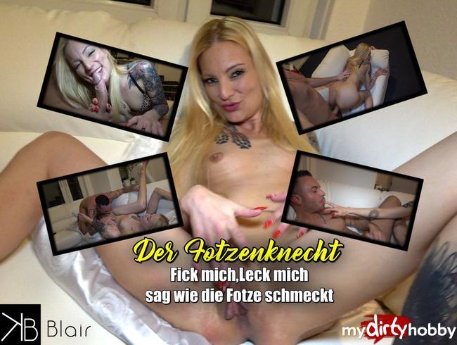 Video Thumbnail Der Fotzenknecht! Fick mich, Leck mich - sag wie die Fotze schmeckt!