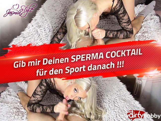 Video Thumbnail Gib mir Deinen SPERMA COCKTAIL für den Sport danach !!!