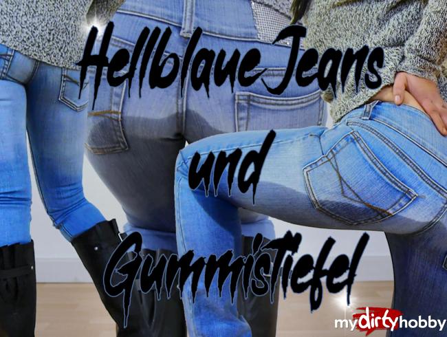 Video Thumbnail Hellblaue Jeans und Gummistiefel