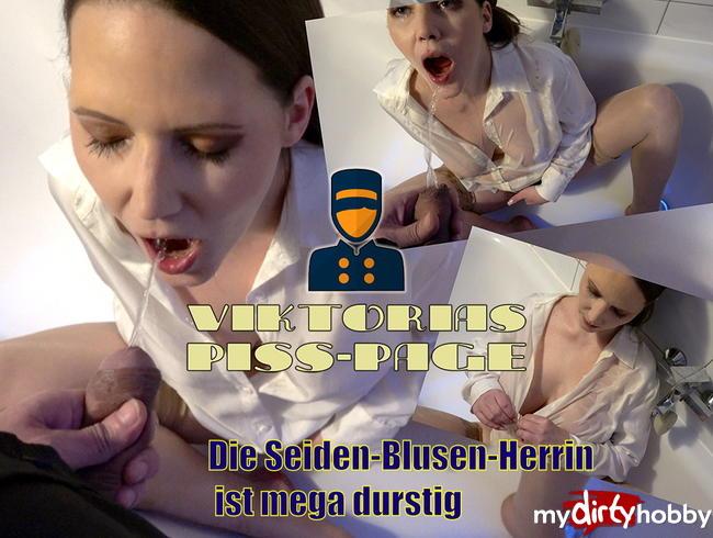 Video Thumbnail VIKTORIAS PISS-PAGE: Die SEIDEN-PISS-BLUSEN-HERRIN ist MEGA DURSTIG!