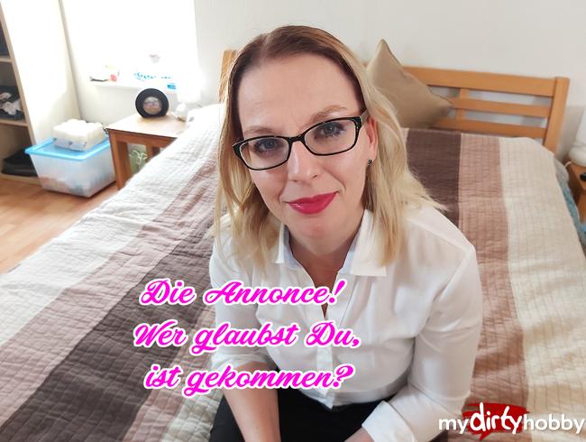 Video Thumbnail Die Annonce! Wer glaubst Du ist gekommem?