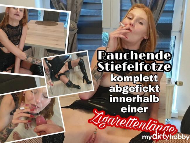 Video Thumbnail Rauchende Stiefelfotze komplett abgefickt innerhalb einer Zigarettenlänge!