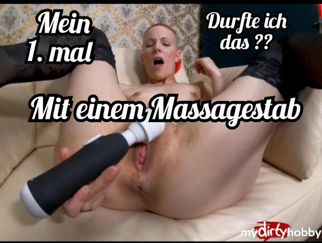 Video Thumbnail Mein 1.mal mit einem Massagestab.