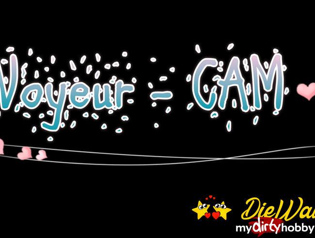 Video Thumbnail Voyeur CAM - Yvi heimlich beim Duschen gefilmt... und DU bist dabei !