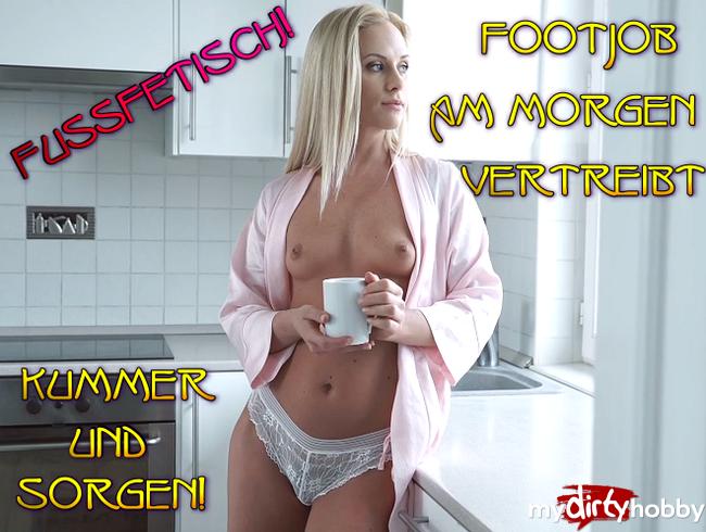 Video Thumbnail Fußfetisch! Footjob am Morgen vertreibt Kummer und Sorgen!