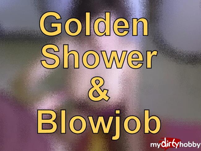 Video Thumbnail Golden shower in der Wäschekammer