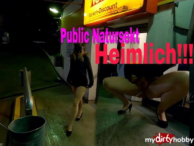 Video Thumbnail Skandal Piss Aktion vor dem Supermarkt!