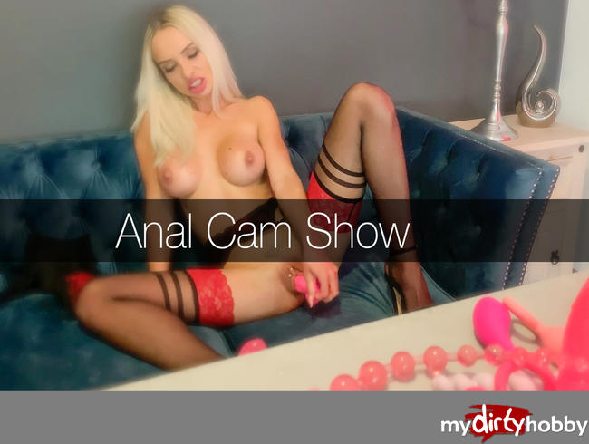 Video Thumbnail Geile Anal Dildo Cam Show
