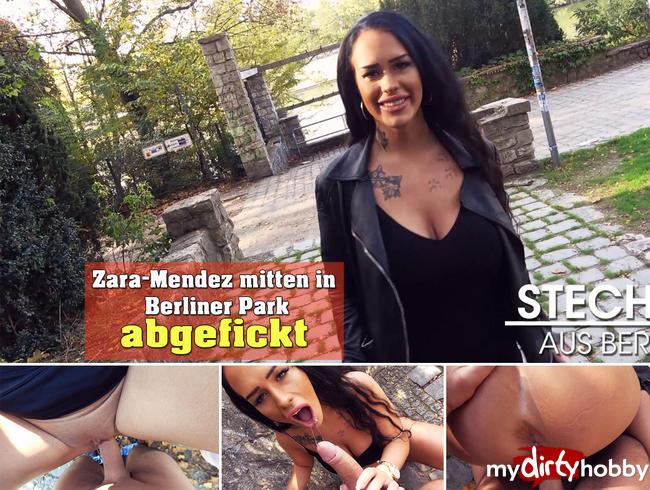 Video Thumbnail Zara-Mendez mitten in Berliner Park abgefickt