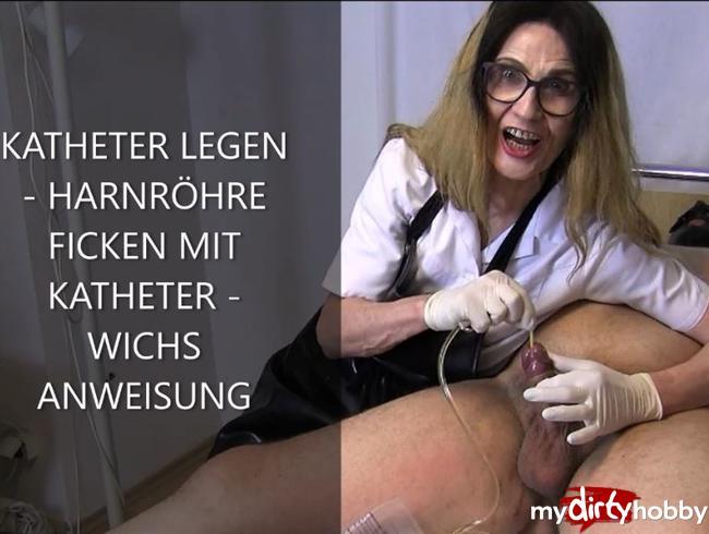 Video Thumbnail BLASENKATHETER LEGEN – HARNRÖHRENFICK – WICHS ANWEISUNG
