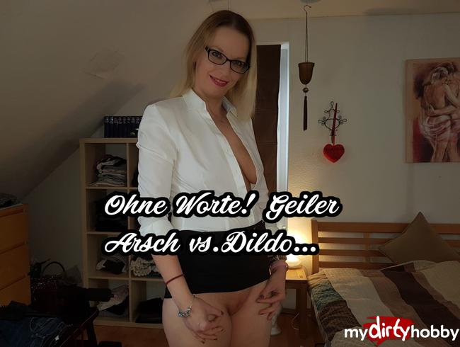 Video Thumbnail Ohne Worte! **Geiler Arsch vs. Dildo**