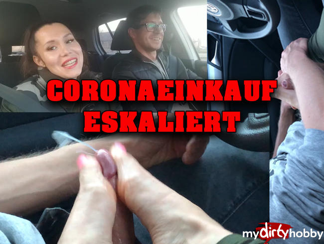Video Thumbnail CORONA Einkauf eskaliert