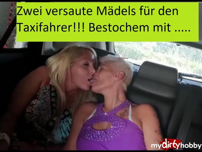 Video Thumbnail Heiße Lesbenküsse und zwei Fotzen für den Taxifahrer