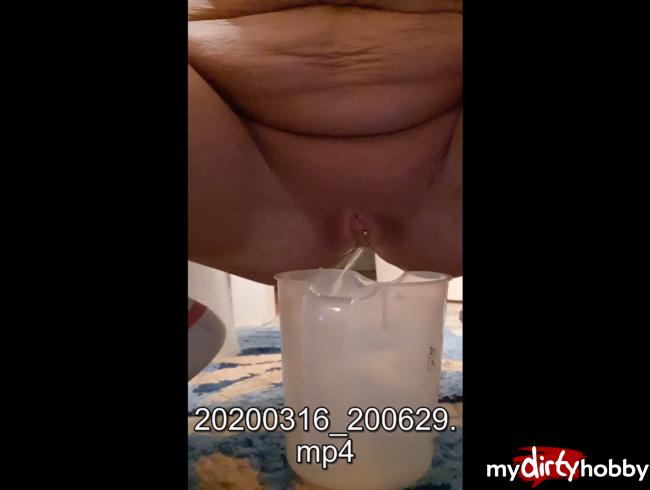 Video Thumbnail erstes mal in gefäß gepisst