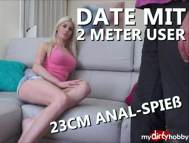 Video Thumbnail MEIN ERSTES USER DATE – 23cm ANAL Hammer