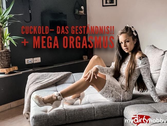 Video Thumbnail Cuckold- DAS GESTÄNDNIS!! + Mega Orgasmus!