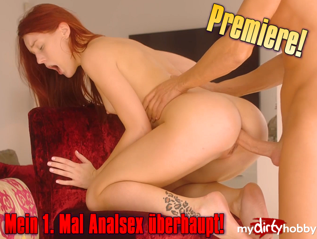 Video Thumbnail Premiere! Mein 1. Mal Analsex überhaupt!