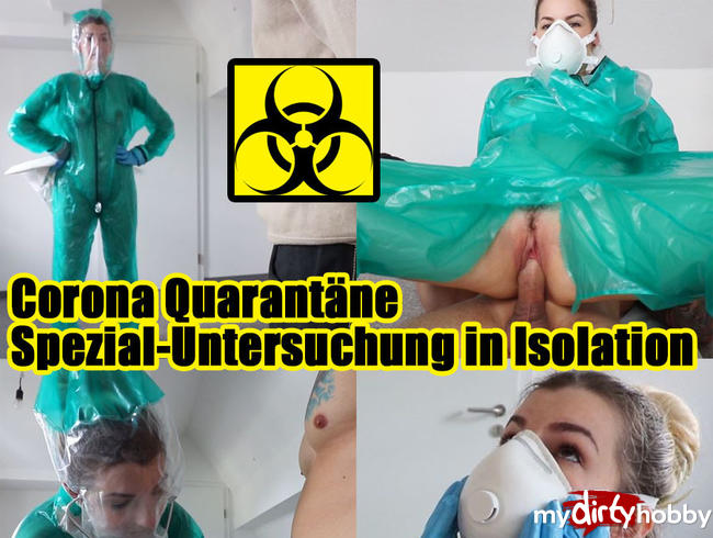 Video Thumbnail CORONA QUARANTÄNE – Spezial-Untersuchung in Isolation