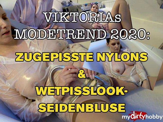 Video Thumbnail ZUGEPiSSTE NYLONS & WETPiSSLOOK-SEiDENBLUSE - VIKTORIAS PISS-PAGE 2