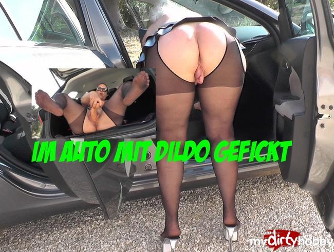 Video Thumbnail Im Auto mit Dildo gefickt