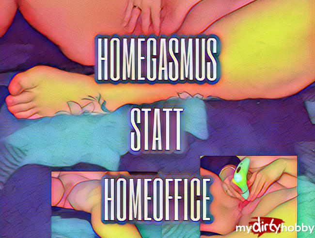 Video Thumbnail HOMEGASMUS STATT HOMEOFFICE