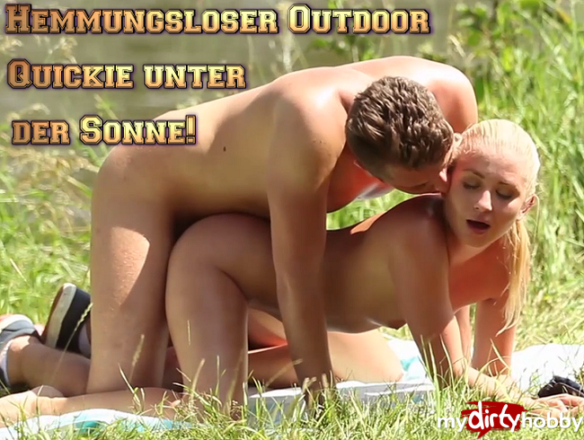 Video Thumbnail Hemmungsloser Outdoor Quickie unter der Sonne!
