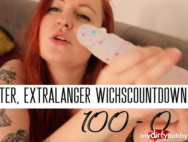 Video Thumbnail Extralanger, harter Wichscountdown