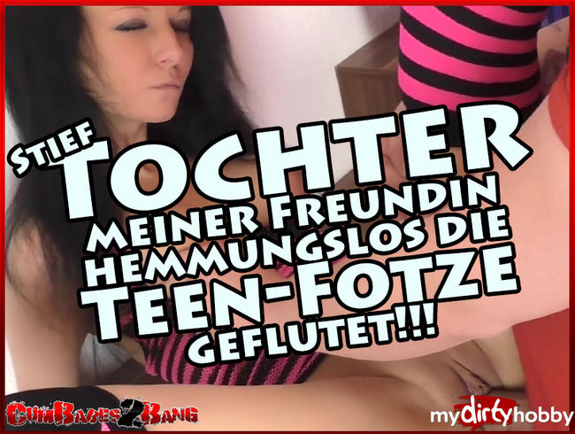 Video Thumbnail Stief-Tochter meiner Freundin hemmungslos die Teen-Fotze geflutet!!!