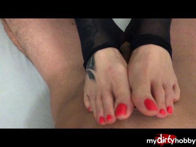 Video Thumbnail Fuck my Feet Baby