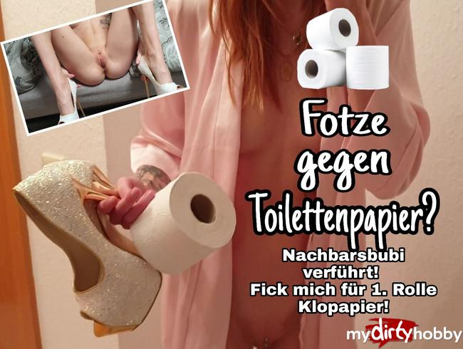 Video Thumbnail Fotze gegen Toilettenpapier