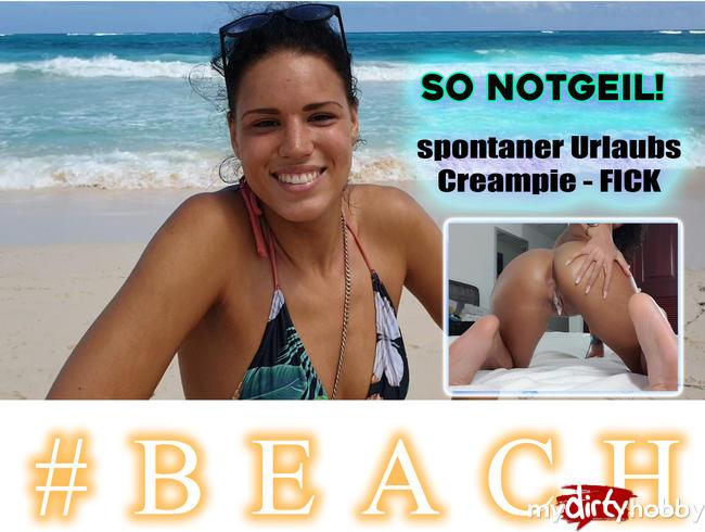 Video Thumbnail SO NOTGEIL! spontaner Urlaubs Creampie