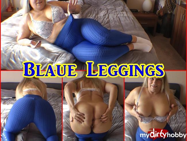 Video Thumbnail Blaue Leggings
