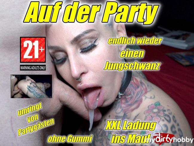 Video Thumbnail Auf der Party !!Endlich wieder nen 20 jährigen Jungschwanz