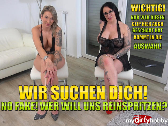 Video Thumbnail Wir Suchen Dich! No Fake! Wer will uns Reinspritzen?
