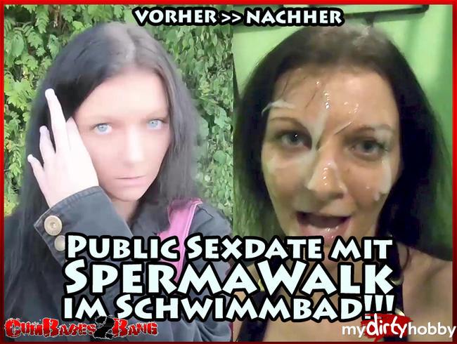 Video Thumbnail Public Sexdate mit SpermaWalk im Schwimmbad!!!