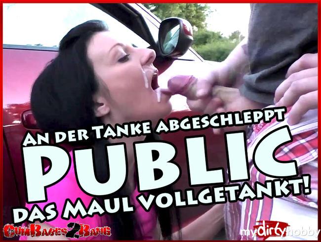 Video Thumbnail An der Tanke abgeschleppt - Public das Maul vollgetankt!!!