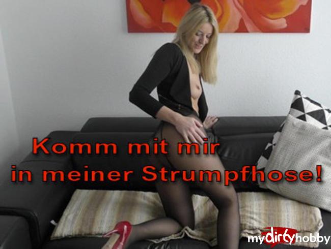 Video Thumbnail Komm mit mir in meiner Strumpfhose!