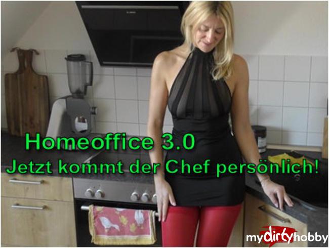 Video Thumbnail HomeOffice 3.0 - Heute KOMMT der Chef persönlich!Ohne Gummi!